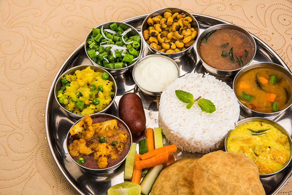 Rajasthani restaurant and thali style dining at begumpet